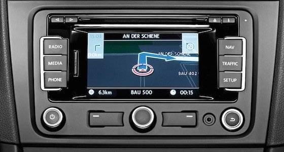 Volkswagen Golf radio CD Navegador RNS 310