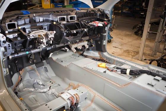 Fabricación Volvo C30 eléctrico