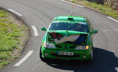 video coche rallye: