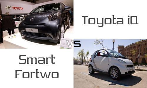 Comparativa Toyota Iq Vs Smart Fortwo La Batalla De Los