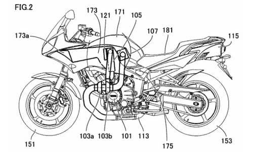 yamaha registra varias patentes para una moto turbodi u00e9sel