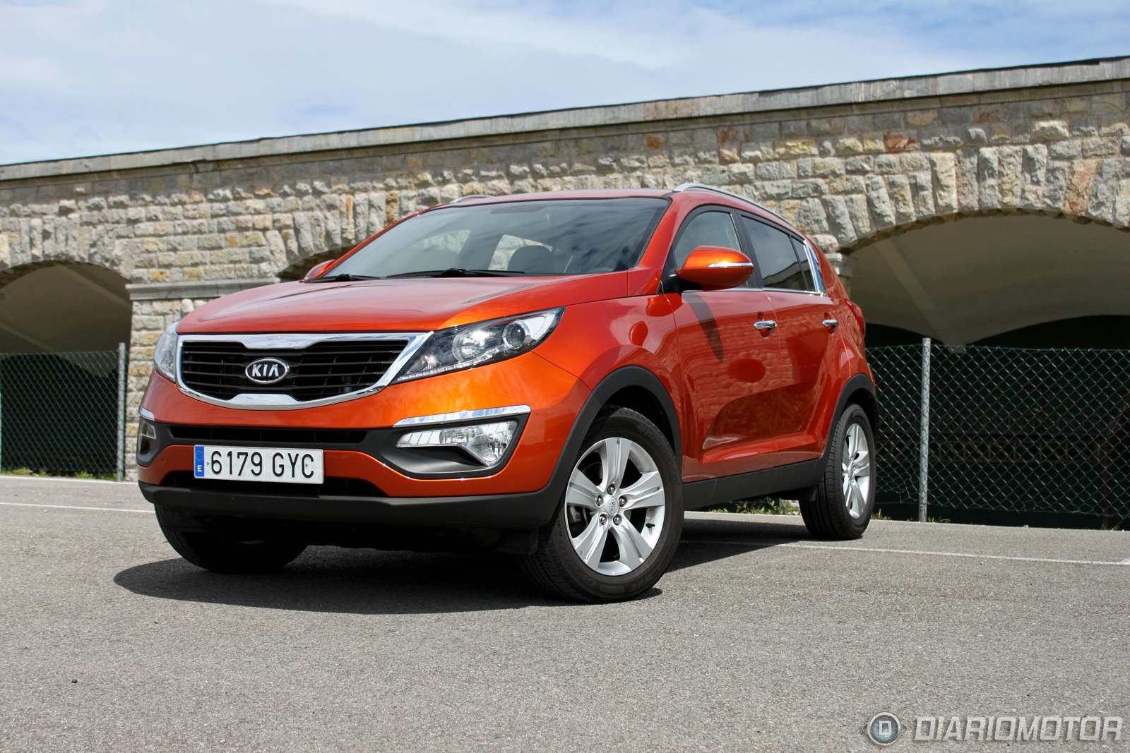 kia sportage 2 0 crdi 4 2 drive a prueba i diariomotor. Black Bedroom Furniture Sets. Home Design Ideas
