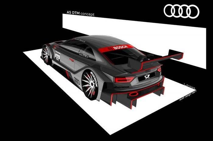 Audi A5 DTM Concept (2012)