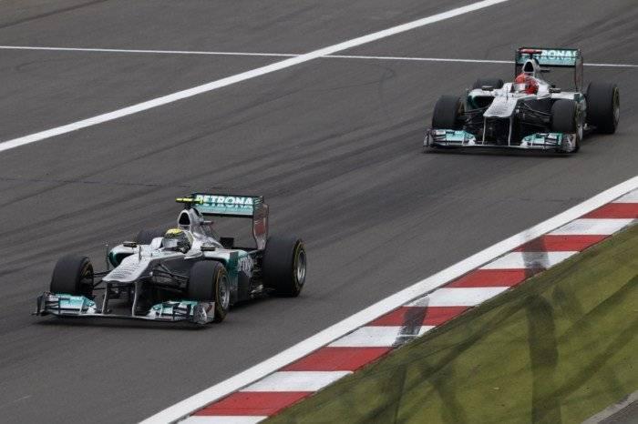 Mercedes - GP Alemania 2011