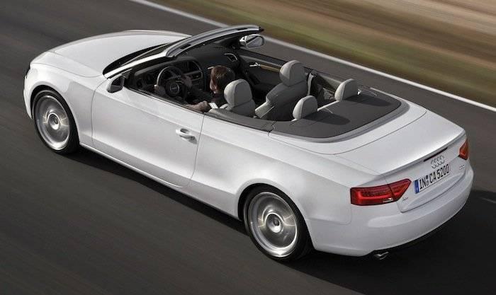 Audi A5 Cabrio 2012