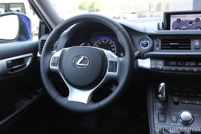 Lexus CT 200h, a prueba (III)