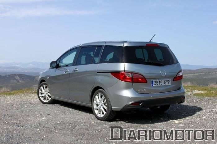Mazda 5 2.0 DISI y 1.6 CRTD Luxury, a prueba (I)