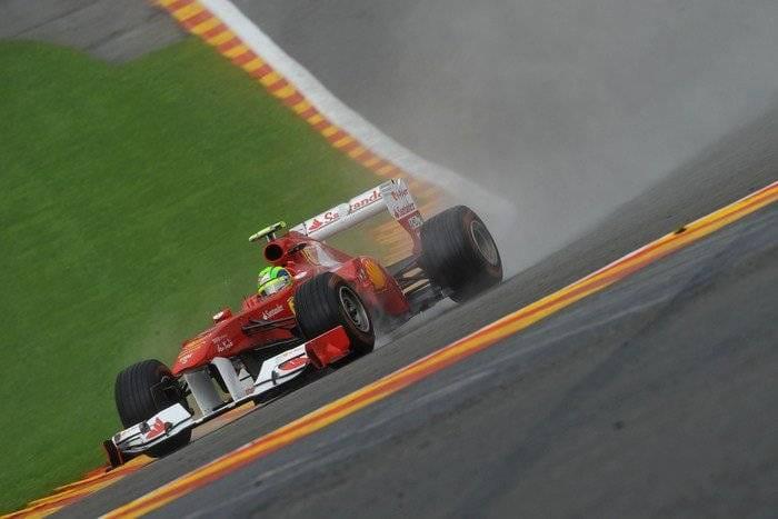 Felipe Massa (Ferrari) - GP Bélgica 2011