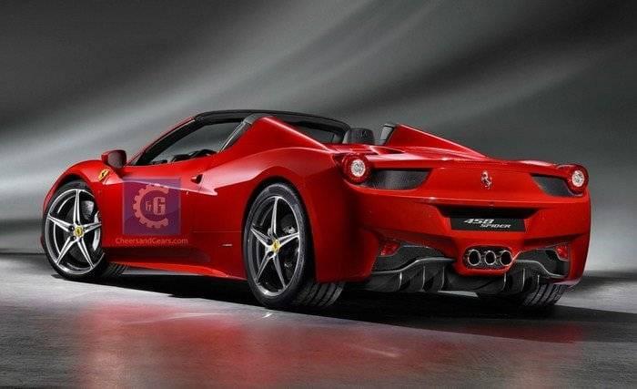 Ferrari 458 Spider, primeras imágenes filtradas