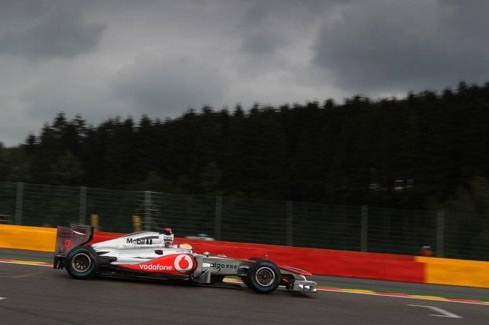 Lewis Hamilton (McLaren) - GP Bélgica 2011