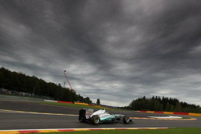 Nico Rosberg (Mercedes GP) - GP Bélgica 2011