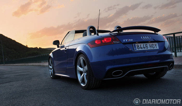 Prueba Audi TT RS 700