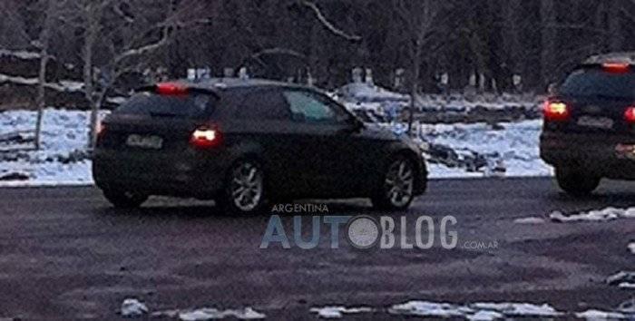 El nuevo Audi A3, cazado en Argentina