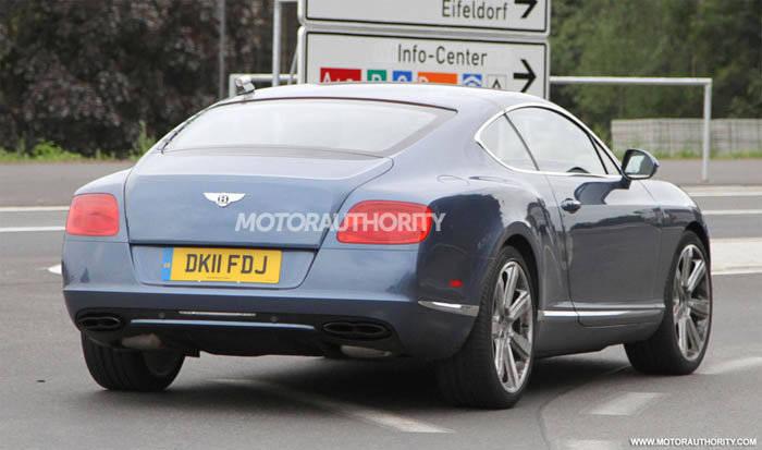 Fotos espía Bentley Continental GT Speed 2012