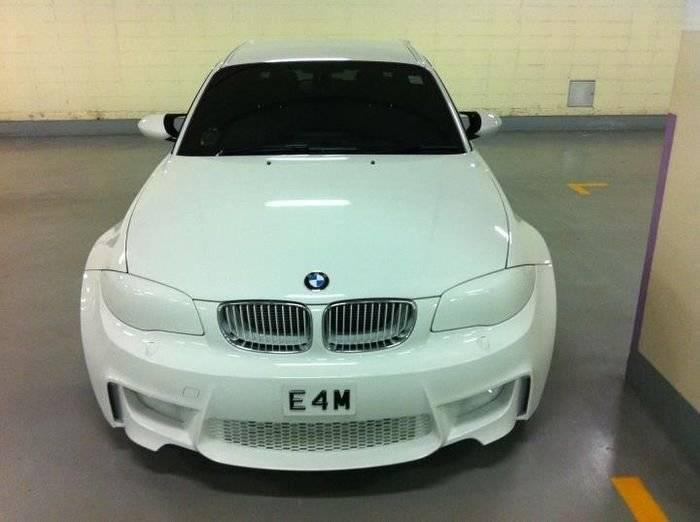 Cómo arruinar por completo un BMW Serie 1 M Coupé