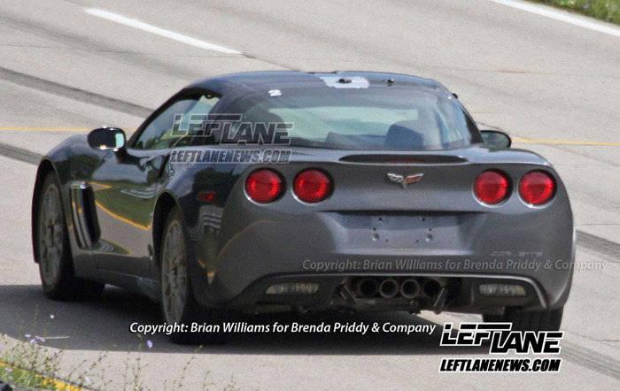 Fotos espía del Chevrolet Corvette C7