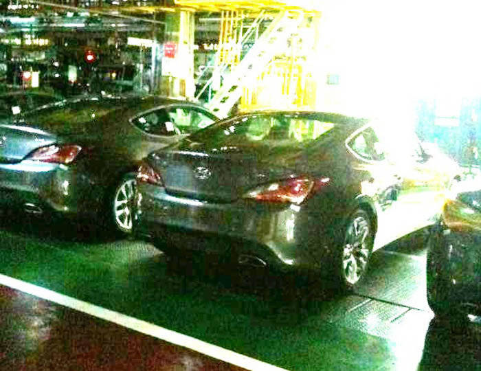 Fotos espía Hyundai Genesis Coupé 2012
