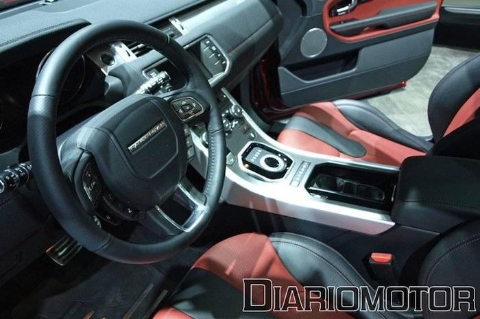Range Rover Evoque en el Salón de Barcelona 2011