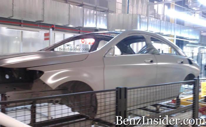 Fotos espía del Mercedes BLS