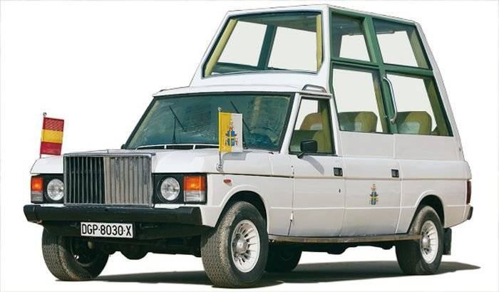 Seat Panda, Range Rover y Santana 109: los Papamóvil españoles