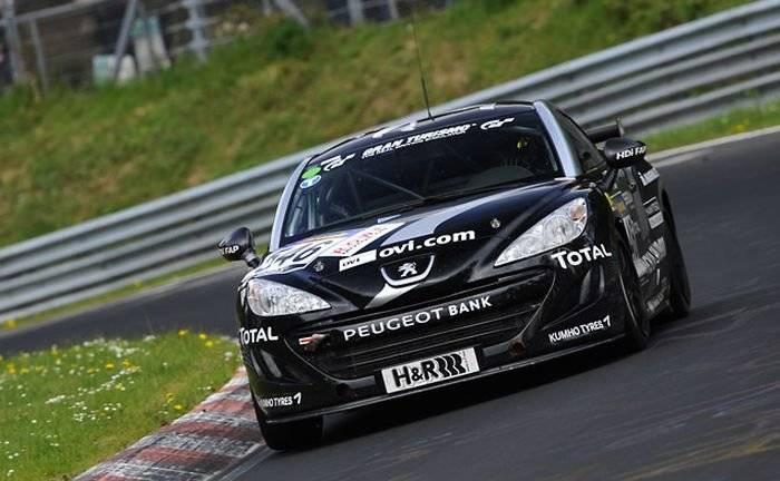 Peugeot celebrará sus éxitos en Nürburgring con un RCZ diésel de 200 CV