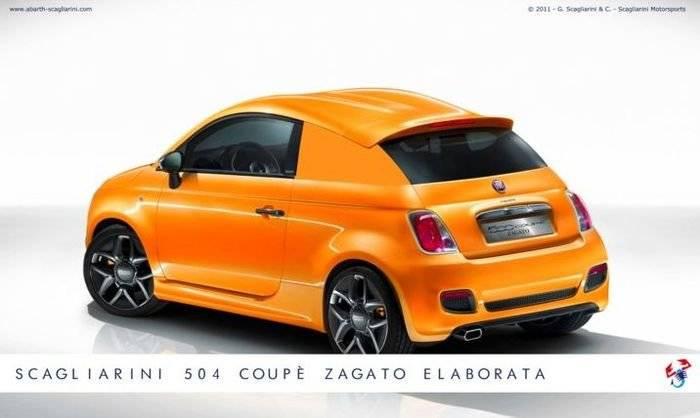 Scagliarini 504 Coupé Zagato Elaborata, producida una unidad exclusiva