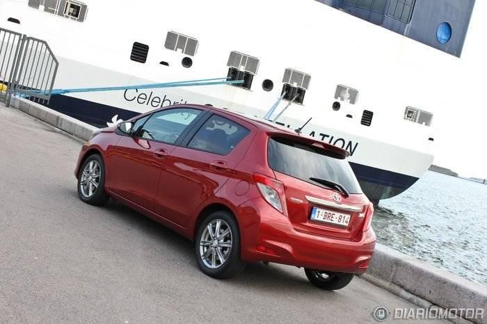 Toyota Yaris, presentación y prueba en Dinamarca (II)