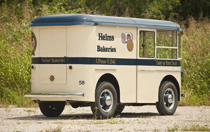 Coach Helms Bakery Truck