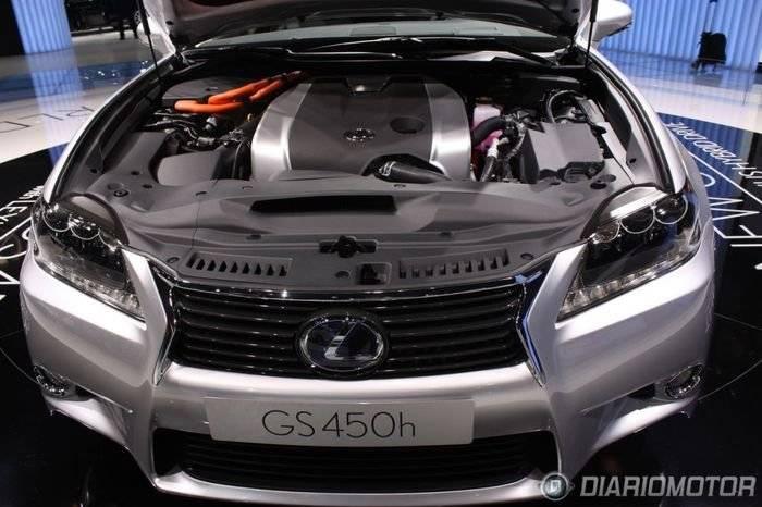 Lexus GS 450h en Frankfurt