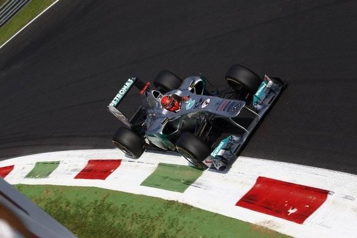 Michael Schumacher (Mercedes) - GP Italia 2011