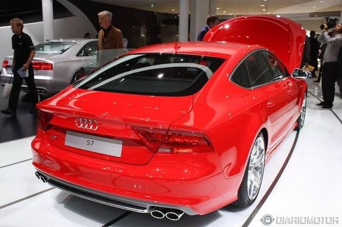 Audi S6, S7 y S8, la familia deportiva unida en Frankfurt
