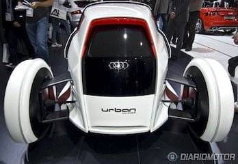 Audi Urban Concept en el Salón de Frankfurt