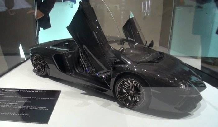 Lamborghini Aventador a escala
