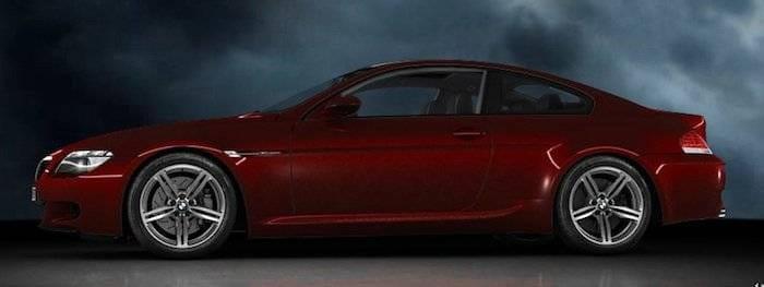 BMW M6, coche de Robert en La piel que habito