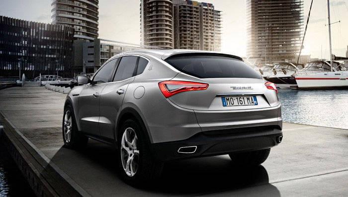 SUV todoterreno Maserati Kubang