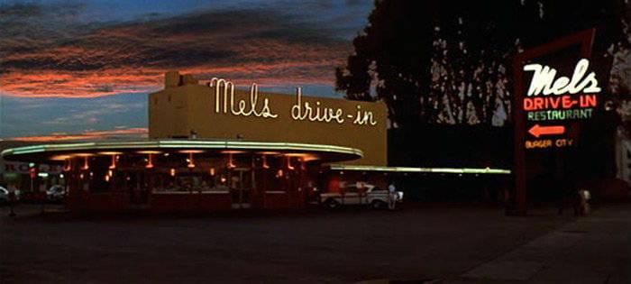Mel's Drive-In en American Graffiti