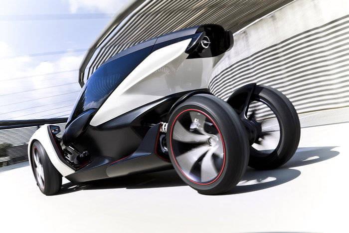 Prototipo eléctrico de Opel para el Salón de Frankfurt