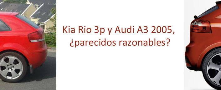 Kia Rio tres puestas