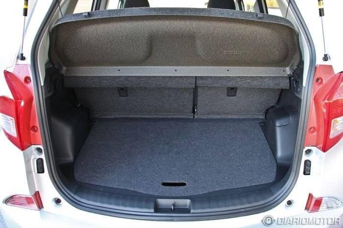 Subaru Trezia, presentación y prueba en Madrid (I)