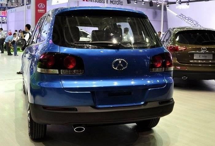 Yema Auto, o la copia china descarada a Infiniti, Audi y Volkswagen