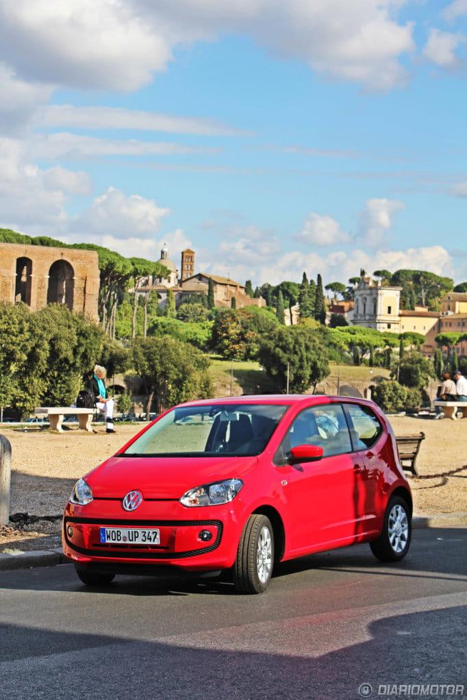Volkswagen Up!, presentación y prueba en Roma