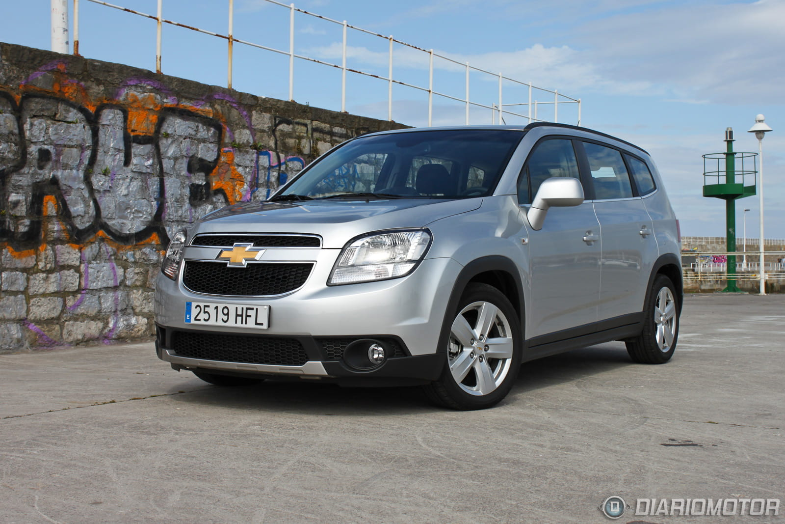 chevrolet orlando 2 0 vcdi aut 163 cv ltz a prueba i. Black Bedroom Furniture Sets. Home Design Ideas