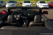 Chevrolet Camaro 2011, presentación y prueba en Suiza