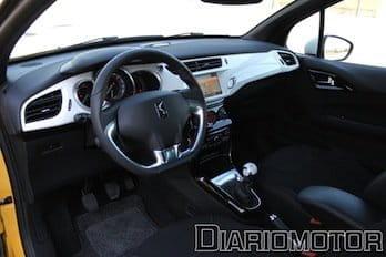 Citroën DS3 HDi, prueba. Interior