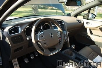 Citroën DS4, presentación y prueba. Interior