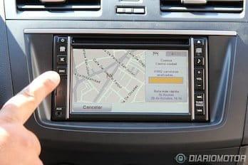 Mazda 3 2012, navegador