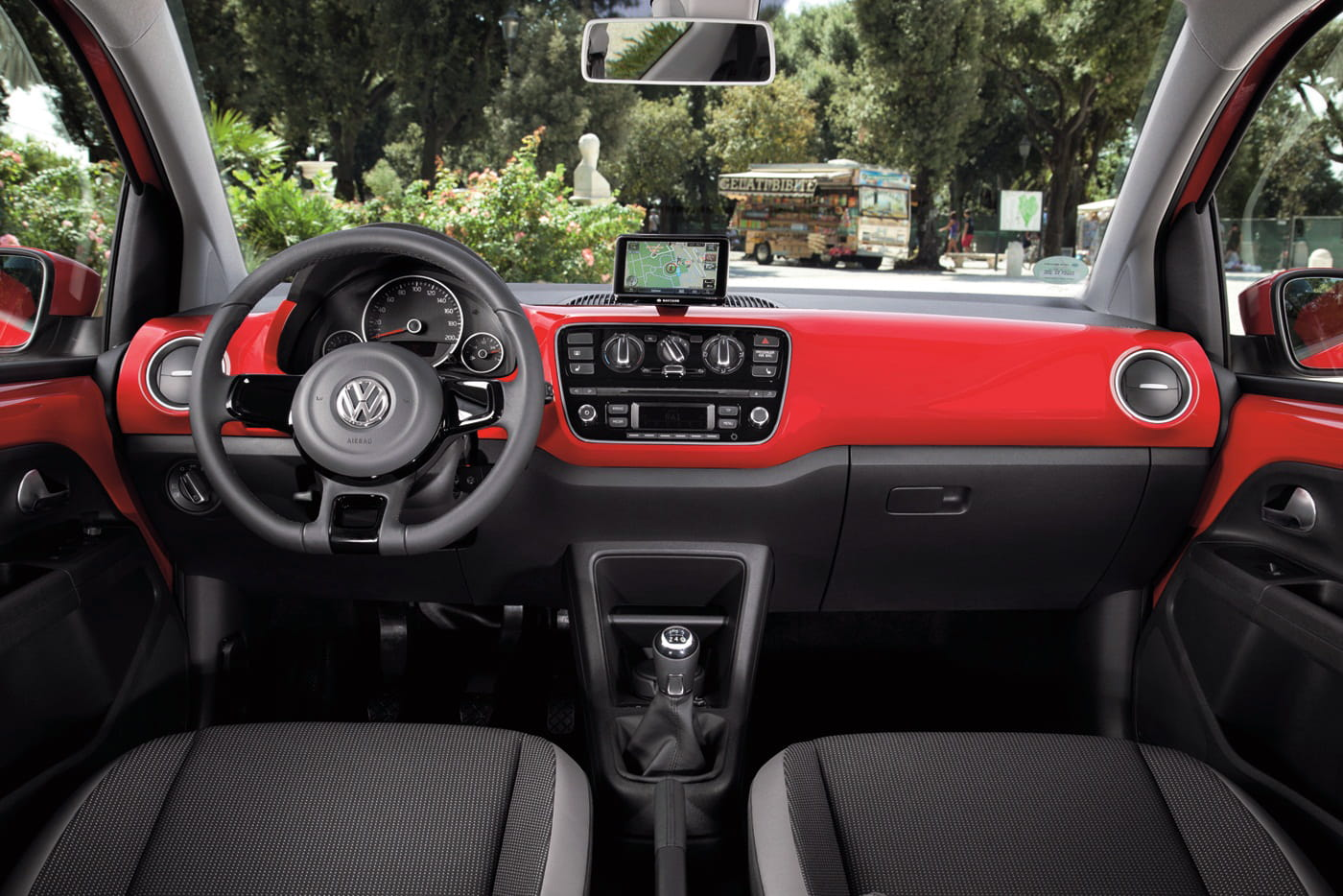 Volkswagen Up!, interior