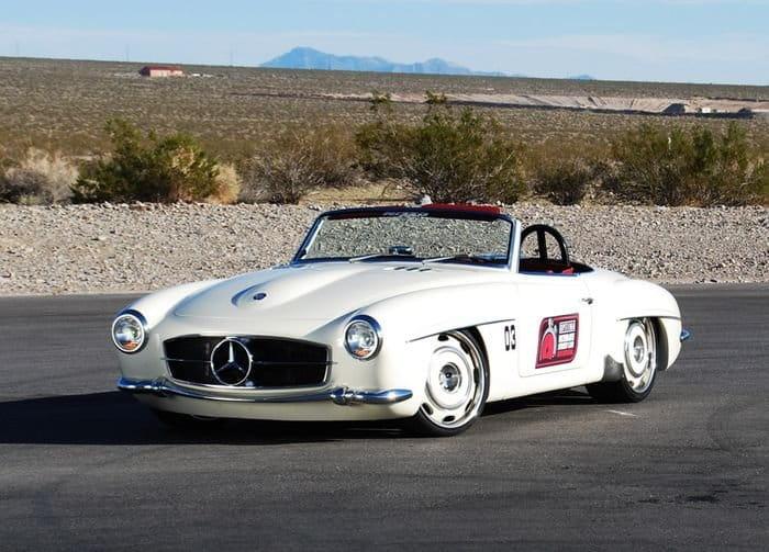 Mercedes Quot Bent Quot 190 Sl Un Hot Rod A Caballo Entre El Dos