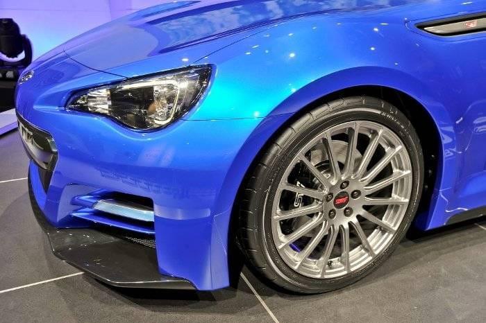 Subaru BRZ Salón de Los Angeles