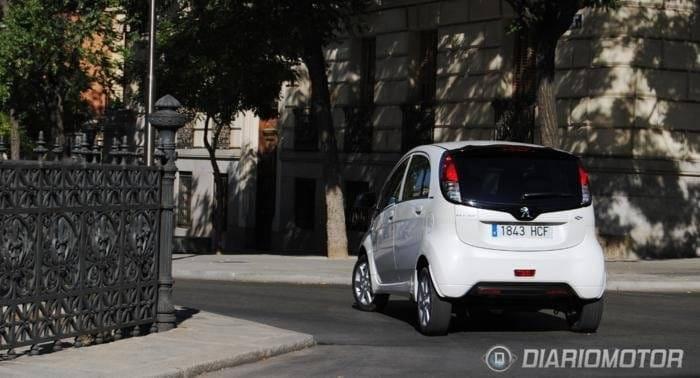 Peugeot iOn a prueba